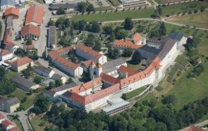 Luftaufnahme Kloster Mallersdorf